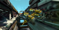 Ragequit Corporation released a brand new gameplay trailer for their upcoming air shooter Strike Vector at Gamescom 2013. The video features some butt clenching dog fights in a midair construction zone full of tight spaces and sharp corners.