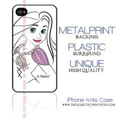 Disney Princess Rapunzel Minimalist iPhone case