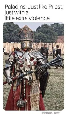 Funny pictures about Epic Level 100 Cleric. Oh, and cool pics about Epic Level 100 Cleric. Also, Epic Level 100 Cleric photos. Fantasy Male, Fantasy Armor, Armadura Medieval, Medieval Armor, Medieval Fantasy, Paladin, Dnd Cleric, Larp, Conquest Of Mythodea