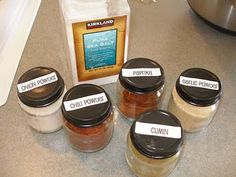 make your own ranch, taco & onion soup mixes.