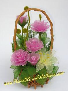 Цветы из капрона | Записи в рубрике Цветы из капрона | NattaMus : LiveInternet - Российский Сервис Онлайн-Дневников