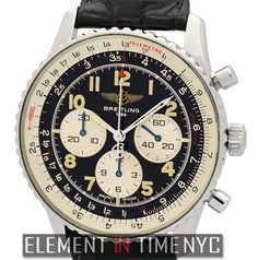 #Breitling #Navitimer 92 Chronograph 38mm iN Stainless Steel With A Black Arabic Dial |Production Years: 1992-1996| (A30022)
