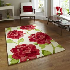 Think Rugs Hong Kong HK 793 Rug in Cream and Pink – Next Day Delivery Think Rugs Hong Kong HK 793 Rug in Cream and Pink from WorldStores: Everything For The Home