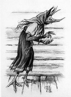 Russian folklore/fairy-tale creatures