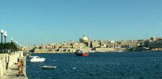 Valletta from Sliema Malta.