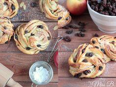 Miss Blueberrymuffin's kitchen: Winter-Sünde: Rosinen-Apfel-Marzipan-Kringel
