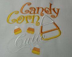 Candy Corn Cutie Applique Baby/Toddler Shirt (Newborn-5T)