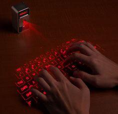 Laser Projection Keyboard: Virtual Laser Keyboard | WayCoolGadgets.com
