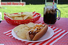 Mommy's Kitchen - Home Cooking & Family Friendly Recipes: Texas Chili Cheese Dogs #hotdogs #chilidog #chilicheeseconey