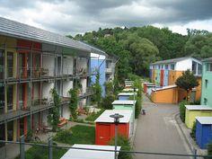 Travel To Germany and Visit Solar City, Freiburg, An Eco-City Habitat Groupé, Ville Durable, Eco Construction, Solar City, Co Housing, Eco City, Urban Fabric, Passive House, Urban Park