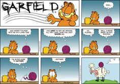 Garfield for 12/1/2013 | Garfield | Comics | ArcaMax Publishing