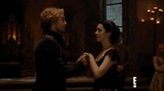 Frary | Francis + Mary | Reign CW dance medieval couple kiss beautiful