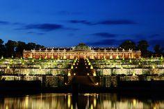 Sanssouci Palace in Potsdam, Germany