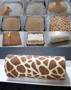 Funny pictures about Fantastic Giraffe Swiss Roll. Oh, and cool pics about Fantastic Giraffe Swiss Roll. Also, Fantastic Giraffe Swiss Roll. Food Cakes, Cupcake Cakes, Ghost Cupcakes, Oreo Cupcakes, Velvet Cupcakes, Wilton Cakes, Birthday Cupcakes, Giraffe Cakes, Giraffe Party