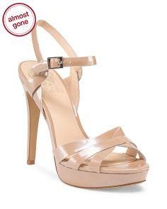 Leather Ankle Strap Sandal