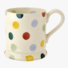 Already own 2 - but would like 4 more.   Polka Dot 1/2 Pint Mug