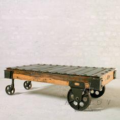 """мебель для лофта кофейный журнальный столик """"Cargo"""