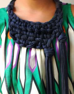 cute scarf from an old shirt and other ways to reuse old shirts