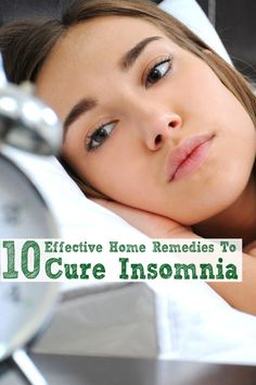 Top 10 Effective Home Remedies To Cure Insomnia