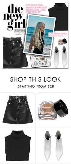"""""""Day of the Girl - For Gender Equality & Youth Justice"""" by outfitsfortravel ❤ liked on Polyvore featuring Maje, Bobbi Brown Cosmetics, Victoria Beckham, Dolce&Gabbana and Charli"""