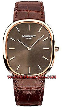 3738-100R -  This Patek Philippe Golden Ellipse Men's watch features a 31.1mm x 35.6mm rose gold case, brown dial, rose gold hands and hour markers, scratch resistant sapphire crystal, fixed bezel, and a brown crocodile leather strap. - See more at: http://www.worldofluxuryus.com/watches/Patek-Philippe/Golden-Ellipse/3738-100R/46_285_1578.php#sthash.YYmD4SuK.dpuf