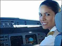 Kulthum Bouseyfi graduated as one of Libya's first female pilots.  http://news.bbc.co.uk/2/hi/africa/7360541.stm