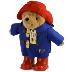 PADDINGTON WITH BOOTS & EMBROIDERED JACKET - 24 cm