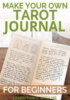 These tarot journals contain one month of tarot spreads for daily draws, weekly planning, and more detailed tarot layouts. You can also get tiny tarot stickers to use in your tarot journal & planner!