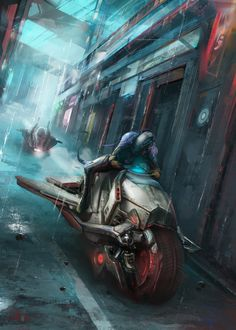 A Dangerous Alley. Art by Aleksa Bracic Find the game at: burning-games.com