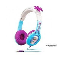 Disney Frozen Headphones Anna & Elsa Music Tunes Earphones Girl Earbuds Story   #Disney