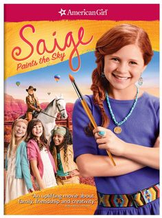 An American Girl - Saige Paints the Sky on DVD - Gift For Kids - A Thrifty Mom