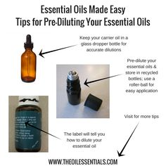 Oiling Made Easy – Tips for Pre-Diluting Your Young Living Essential Oils