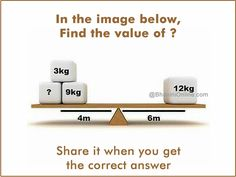 Mind Puzzles, Riddles With Answers, The Value, Weighing Scale, Place Card Holders, Math, Scale, Math Resources, Virgos