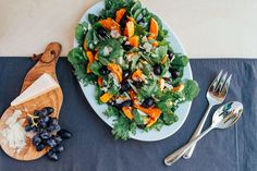 A fall/winter salad for people who don't think they like salad -- filled with roasted goodness.