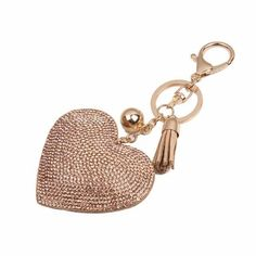 10ae24afc Love Rhinestone Tassel Keychain GOLD #fashion #clothing #shoes #accessories  #womensaccessories #