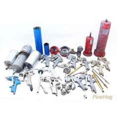 For Sale: Lot of Paint Sprayers Parts Sata Jet 90 iwata DevilBiss Mactools Astr RTI Filter
