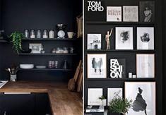 Nogle gange er svaret bare... Sort! Sorting, Shelving, Gallery Wall, Farmhouse, Design, Home Decor, Desk, Shelves, Decoration Home