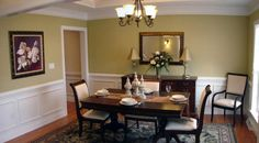 Upgraded dining rooms #Yorknewhomes
