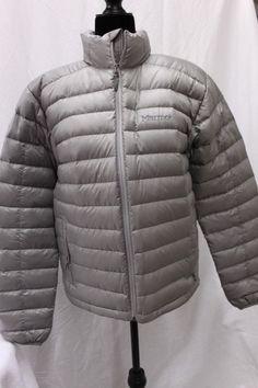 Marmot Woton Zeus Gray 700 Down Fill Coat Jacket Waterproof MSRP  225 Men s  NEW  00442a0de38