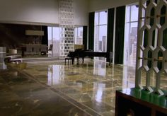 The Staircase - Inside Christian Grey's Apartment from 50 Shades of Grey - Lonny