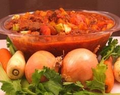 Simple Beef and Vegetable Casserole - Easy food recipes - Beef