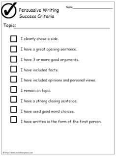 write a persuasive speech ks2