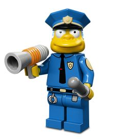 "Looking for great deals on ""LEGO Simpsons Chief Wiggum""? Compare prices from the top online toy retailers. Save money when buying your LEGO play sets for your children and yourself. Minifigura Lego, All Lego, Lego Toys, Legos, Lego Batman, Lego Simpsons, Chief Wiggum, Krusty The Clown, Simpsons Characters"