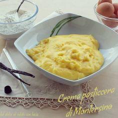 La crema pasticcera del Maestro Montersino