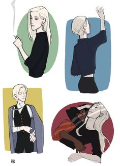 HP fanart, mostly drarry : Photo