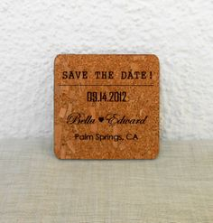 Rustic Save the Dates - Wedding Save the Date Cards - Vineyard Wedding Cards - Set of 25 on Etsy, $87.50