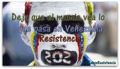 #16A -> Deja Que El Mundo Vea Lo Que Sucede En Venezuela #ResistenciaVzla pic.twitter.com/cwXWNAhRkz