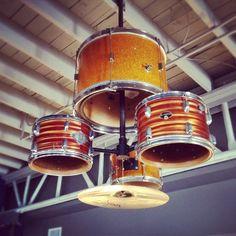 lights from old drum kit  Google Image Result for http://designspiration.net/data/l/2429956050761_Hz8D1fSb_l.jpg