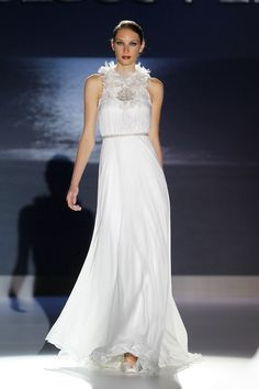 Jesus-Peiro-Spanish-Bridal-Collection-2012 - Read More on One Fab Day http://onefabday.com/jesus-peiro-spanish-bridal-week/