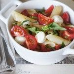 Pasta Caprese (with gluten free option)